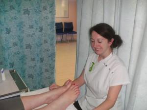Lynsey McCabe foot health