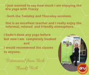 dru yoga testimonial