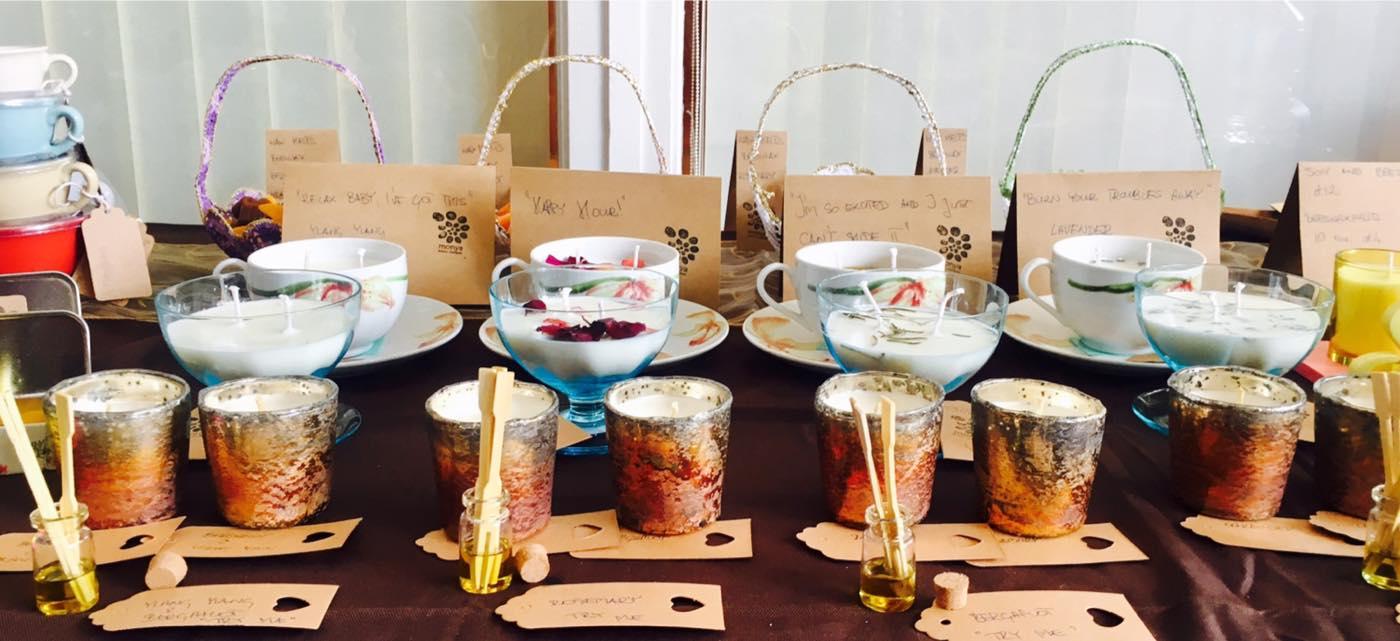 aromatherapy candles from Monika Frackowiak