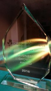 Chamber of Commerce Business Growth Award