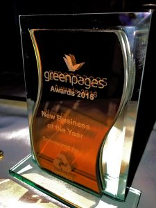 Green Pages New Business Of The Year