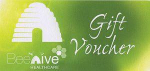 Beehive Healthcare Gift Voucher