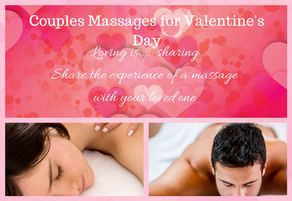 Chester Valentine's gift of Couple's massage