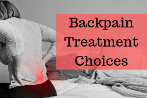 backpain treatment choices chester clinic